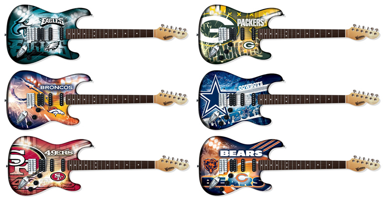 NFL Guitars