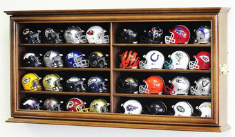 NFL Mini Helmet Display
