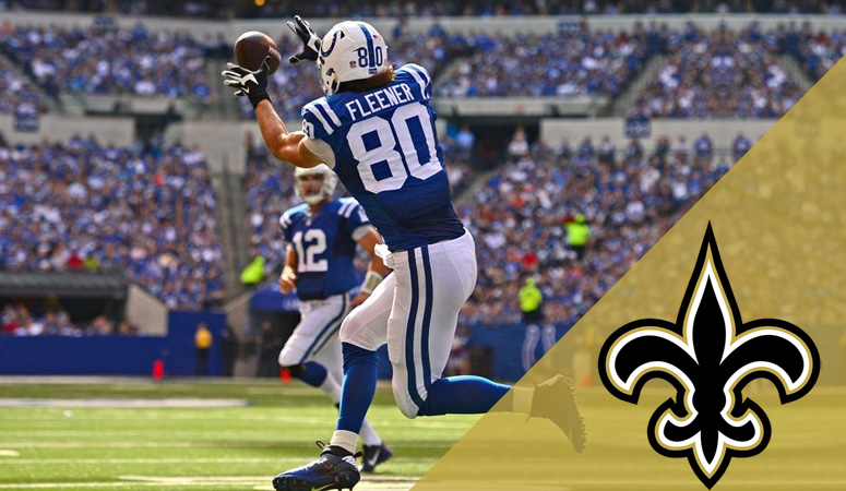 Coby Fleener Saints