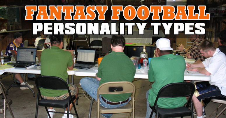 12 Fantasy Football Personalities