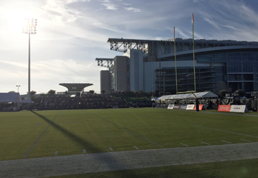 Texans Training Camp day 1