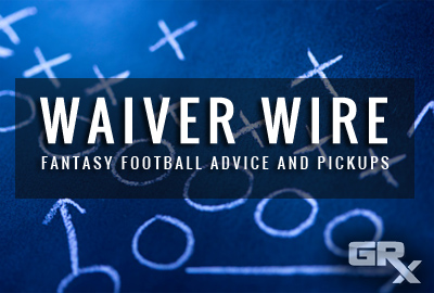 Waiver Wire Week 9 Pickups