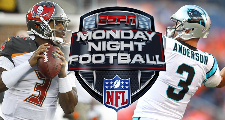 MNF Bucs at Panthers