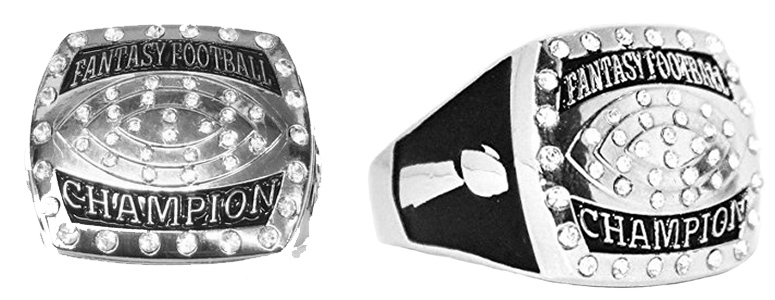 large trophies fantasy championship products football rings ring