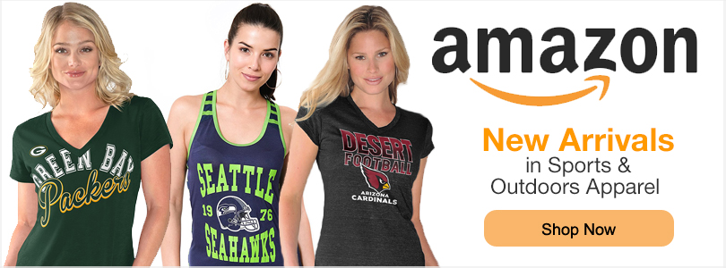 Shop NFL Apparel at Amazon