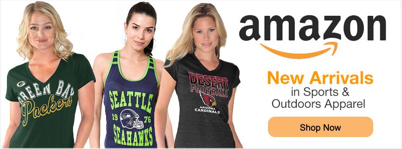 Shop NFL Apparel at Amazon