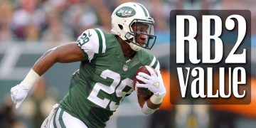 Fantasy Football RB2 Value