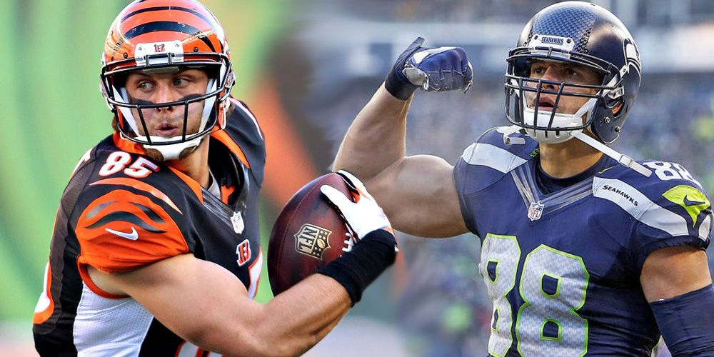 Tyler Eifert or Jimmy Graham