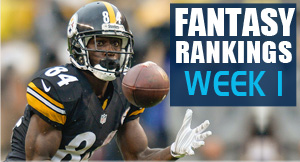Fantasy Football Rankings Week 1