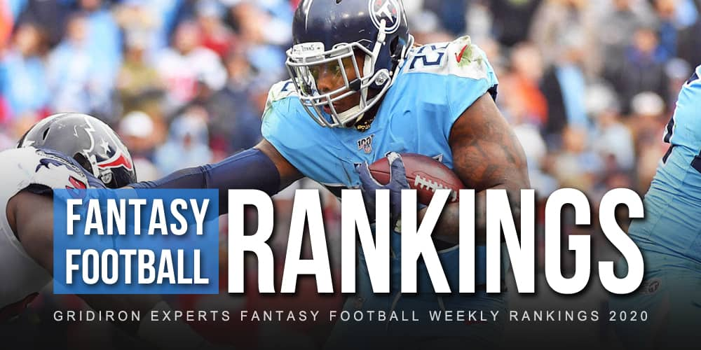 Fantasy Football Rankings Week 2