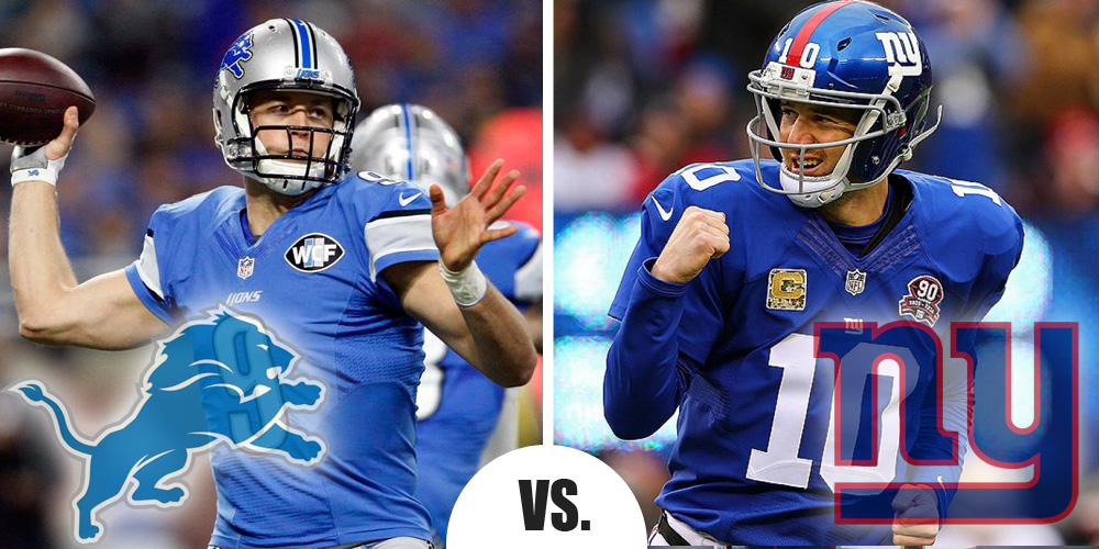 MNF Lions at NYG