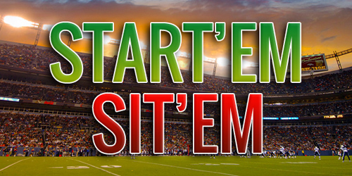 Start 'Em Sit 'Em Week 2