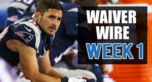 Waiver Wire Week One