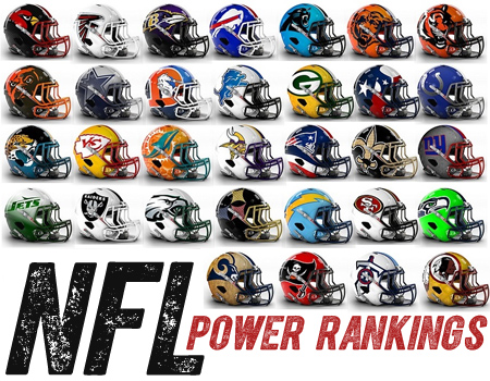 NFL Power Rankings Week 6