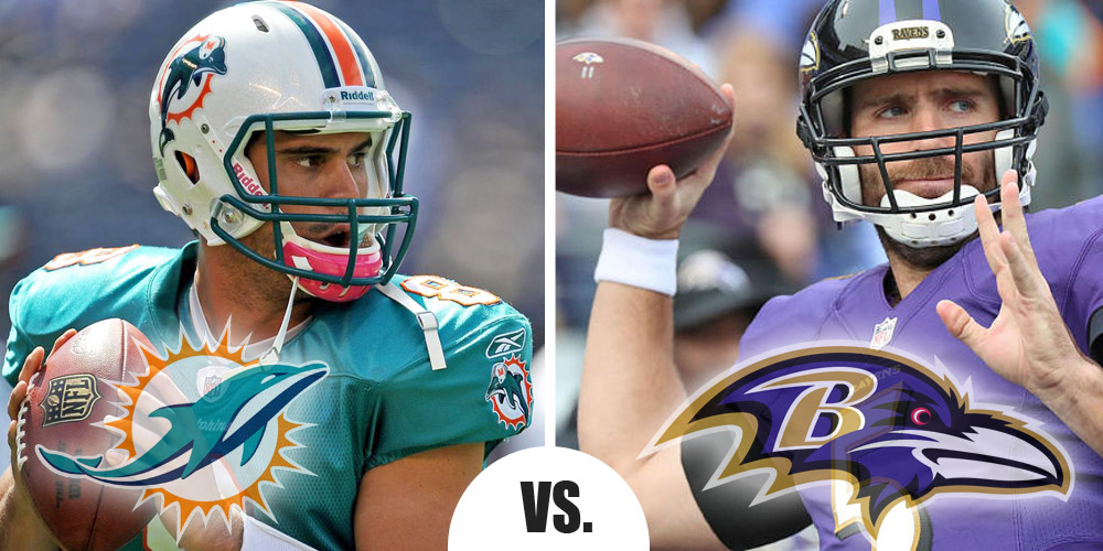 Thursday Night Football Preview: Miami at Baltimore 6