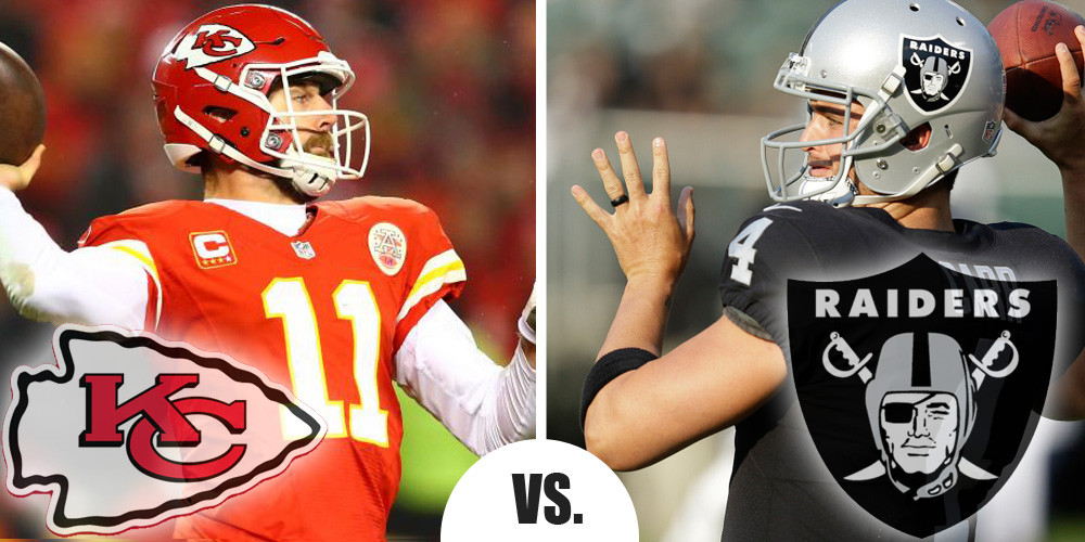 Thursday Night Football Preview: Kansas City at Oakland 9