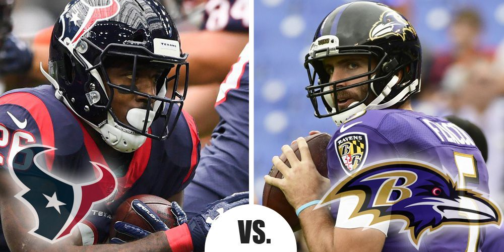 Monday Night Football Primer Texans at Ravens 11