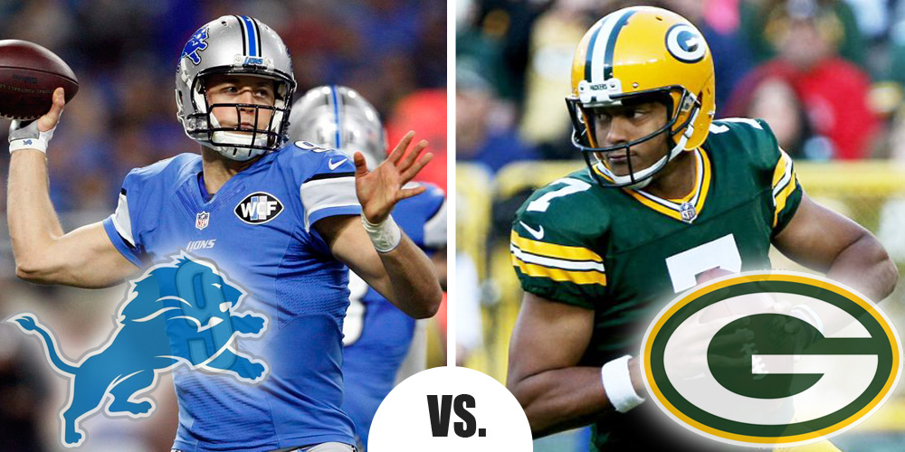 Monday Night Football Primer Lions at Packers 16