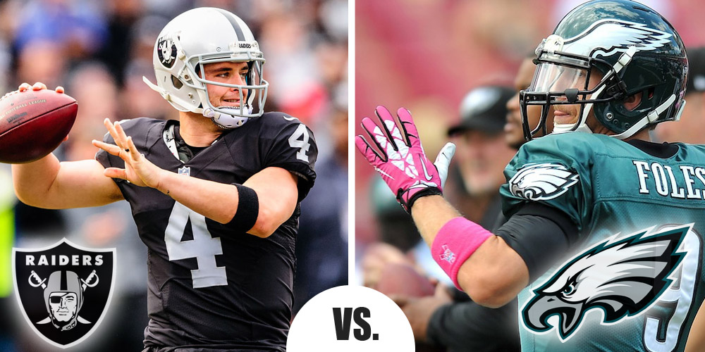 Monday Night Football Primer Raiders at Eagles 6