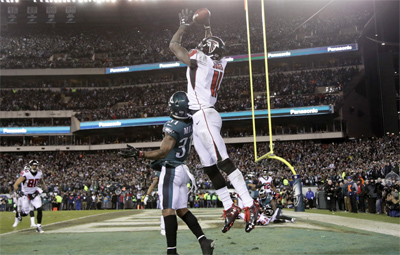 Julio Jones drop