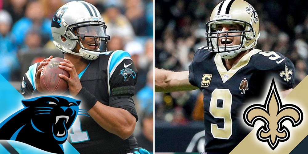 NFL Playoffs Panthers at Saints