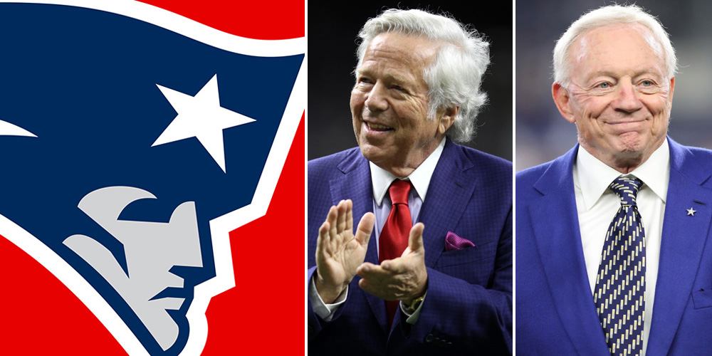 Will The 6th Ranked Patriots Move Up The World's Most Valuable Sports Team List? 17