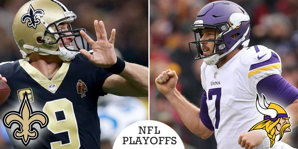 NFL Divisional Round Playoff Preview: Saints at Vikings
