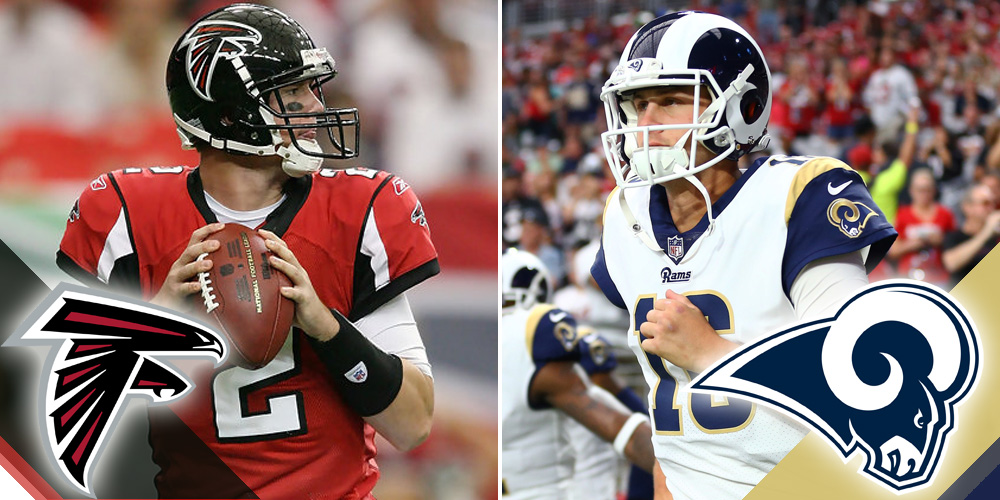 Wildcard Playoffs Falcons at Rams