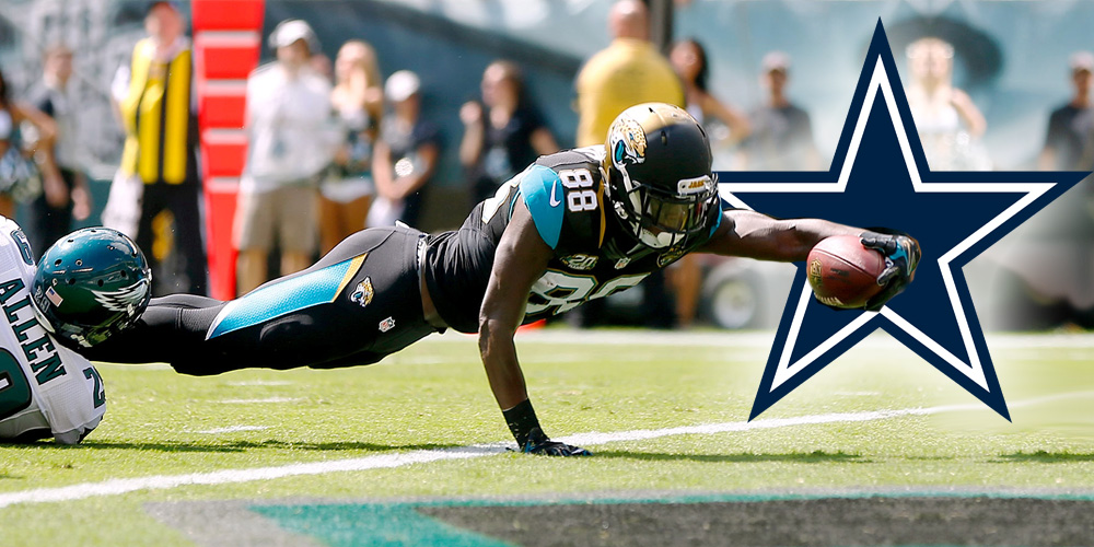 Fantasy Impact: Allen Hurns Signs with Cowboys