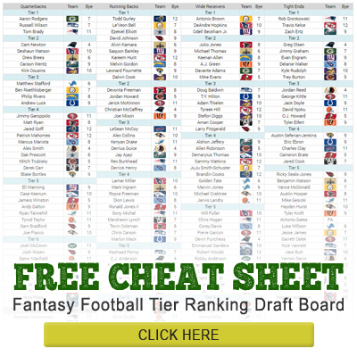 10 Fantasy Football Draft Day Tips and Advice 7