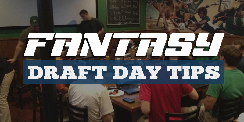 10 Fantasy Football Draft Day Tips and Advice
