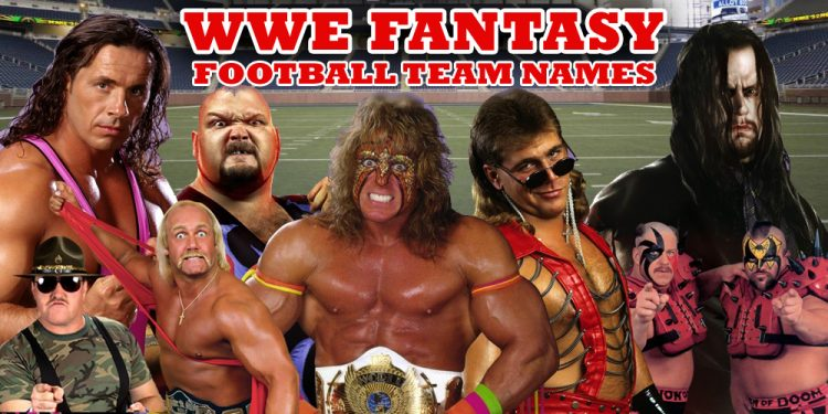 WWE Fantasy Football Team Names