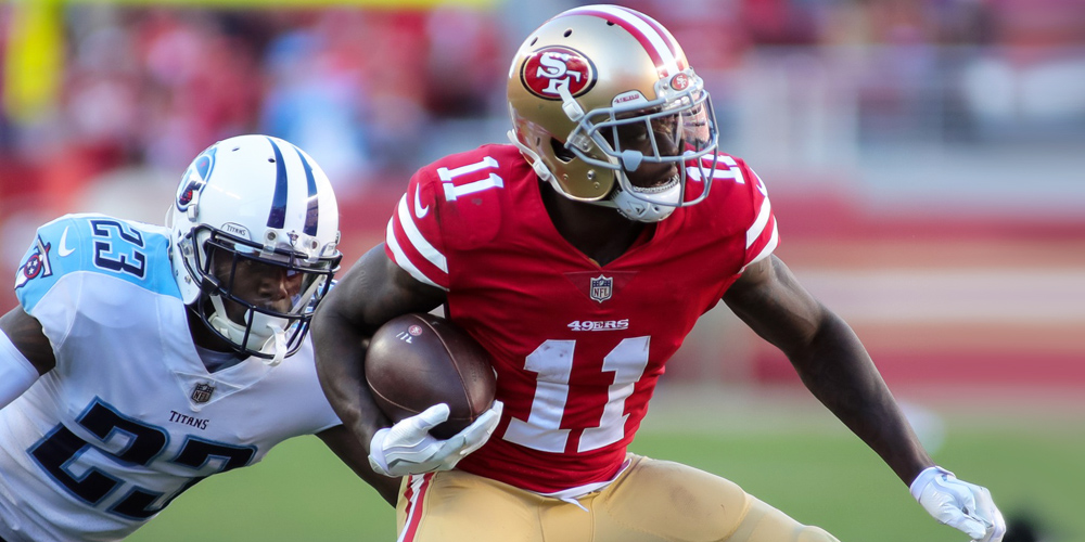 Marquise Goodwin Fantasy Outlook for 2018