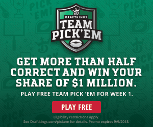 DraftKings Pick'em Contest