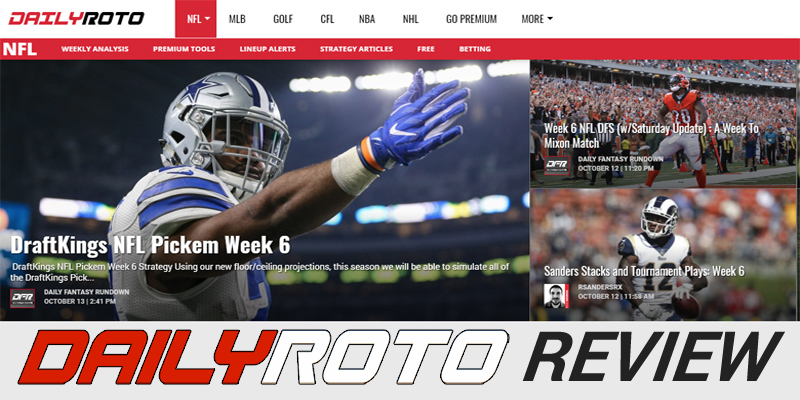 Daily Roto Review: Premium Daily Fantasy Tools That Make Millionaires