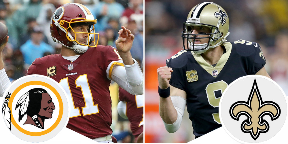 Monday Night Football Preview: Redskins at Saints
