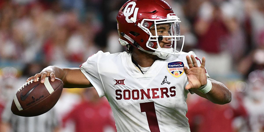 Kyler Murray NFL Draft odds 14