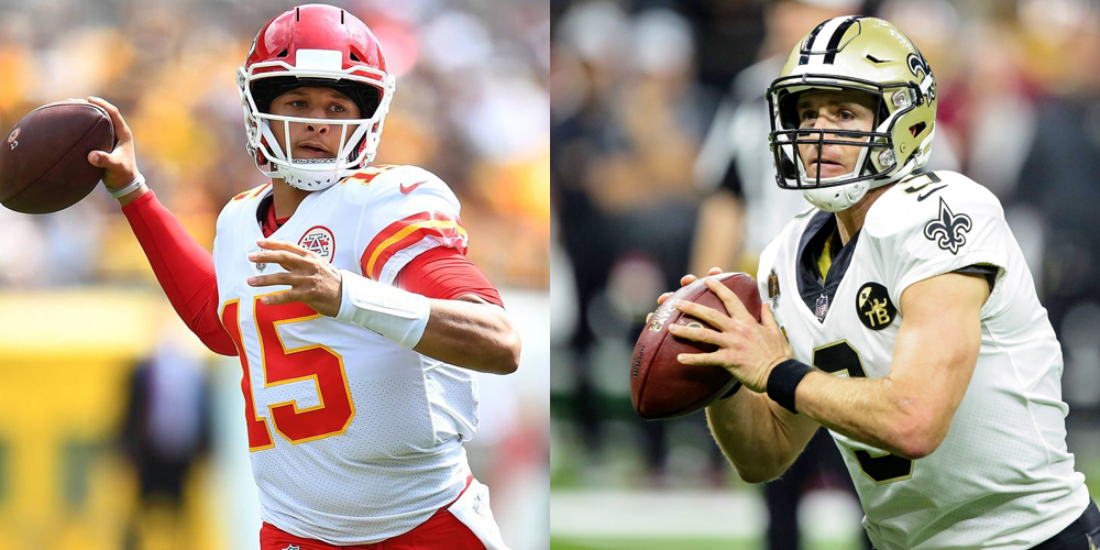 Patrick Mahomes vs Drew Brees: Where's the Value? 10