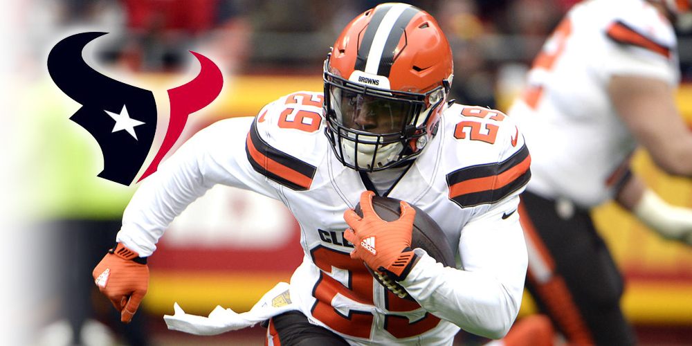 Fantasy Impact: Duke Johnson to the Texans 6