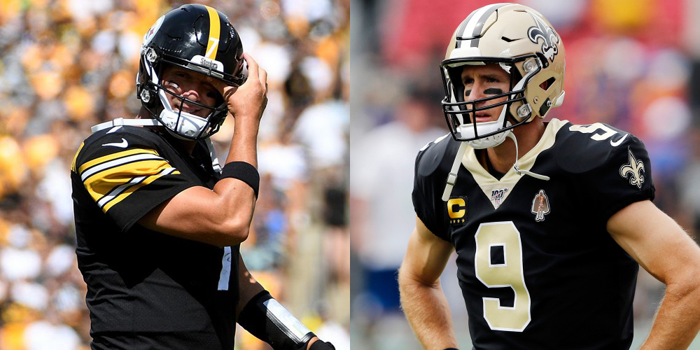 QB Injury Update: Roethlisberger's Done, Brees Out 5