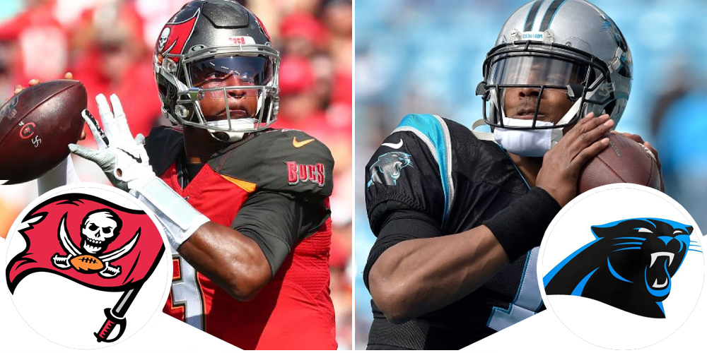 DraftKings Thursday Night Showdown: Buccaneers at Panthers 12