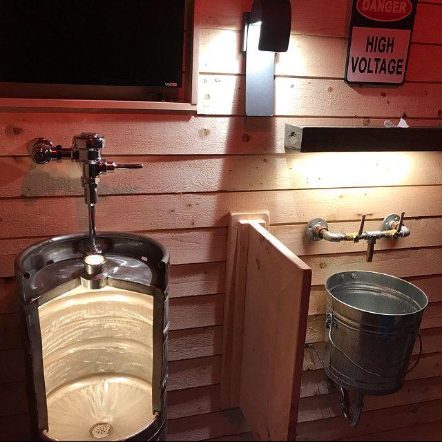 Man Cave Bathroom designs