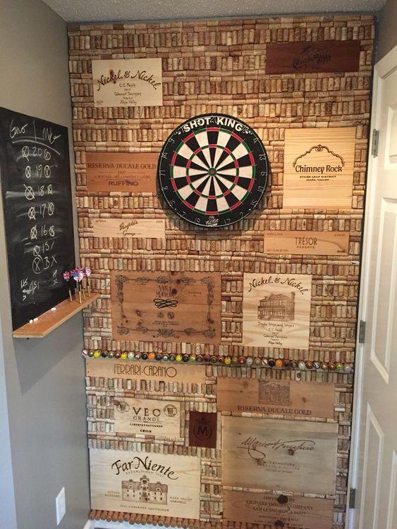 Man Cave Dart Board