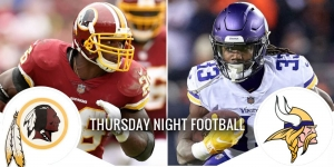 Thursday Night Football Preview: Redskins at Vikings 10