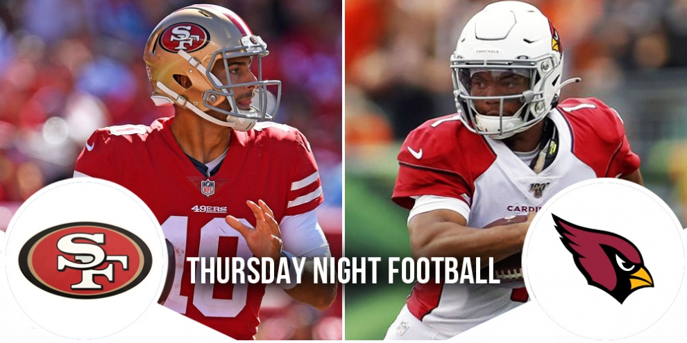 Thursday Night Football Preview: 49ers at Cardinals 4