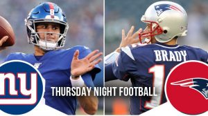 Thursday Night Football Preview: Giants at Patriots 11