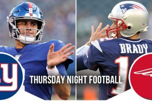 Thursday Night Football Preview: Giants at Patriots 6