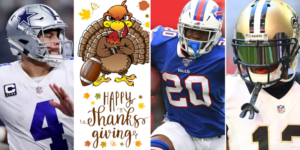 Thanksgiving Fantasy Football Breakdown 5