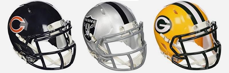 NFL Riddell Helmets