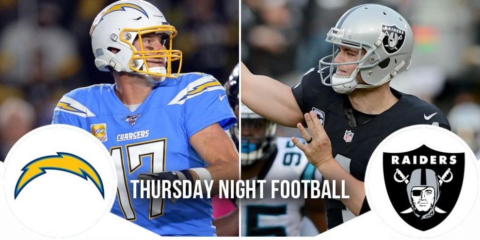 Thursday Night Football Preview: Chargers at Raiders 5